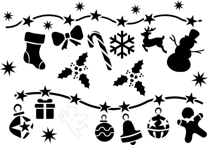 Kreativ design - Weihnachtsgirlande basteln ...